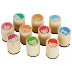 Emotionsstempel 10er Set